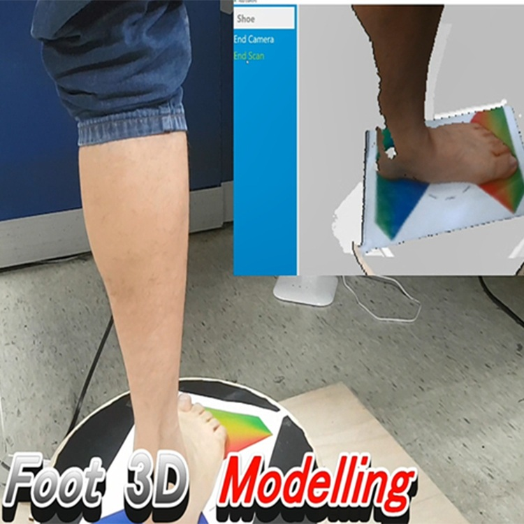 3d foot modelling ar shoe virtual try on for smart retail asus